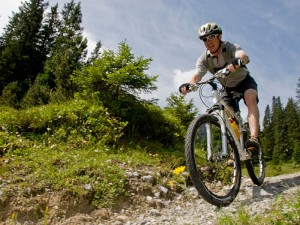 Mountainbike-Strecken rund um den See