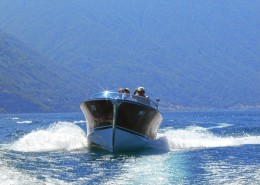 Riva Motorboot am Comer See