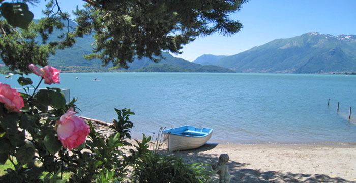 Comer See Landzunge Boschetto