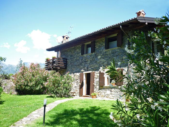Villa Erica Comer See Bucht Piona