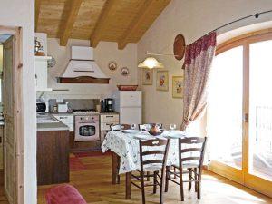 Ferienhaus Frasca Wohnzimmer