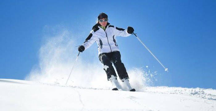 Vier traumhafte Skigebiete in unmittelbarer Nähe