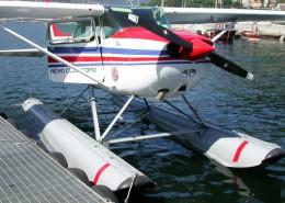 Wasserflugzeug Rundflüge am See