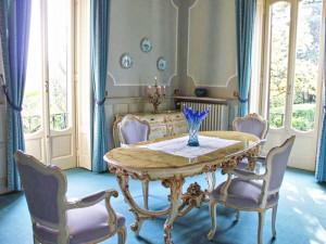 Die berühmte historische Villa La Collina in Cadenabbia