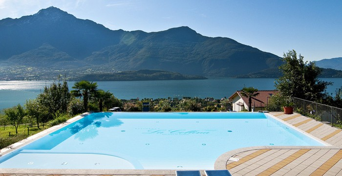 "Pool-Residenz ""La Collina"" in Vercana"