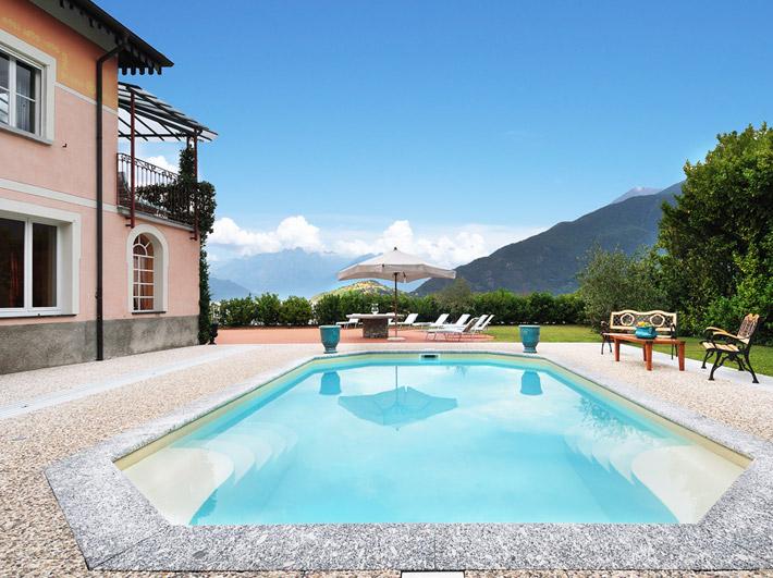 Villa Meridiana am Comer See